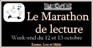 logo marathon de lecture halloween