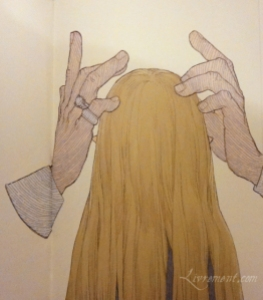 Lika aux cheveux longs 05