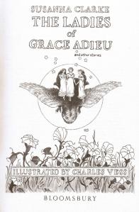 Les dames de grace adieu Susanna Clarke illustrations Vess