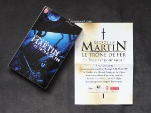 bookcrossing G R R Martin Le trone de fer bis