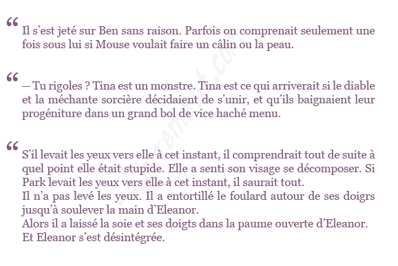 extrait Eleanor Park Rainbow Rowell