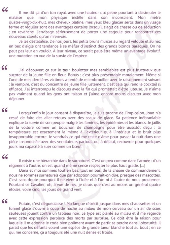 Extraits metaphysique du vampire Jeanne-A Debats