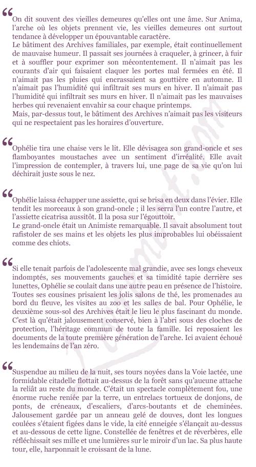 extraits Les fiances de l hiver Christelle Dabos La pase miroir
