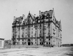 Immeuble Dakota en 1890
