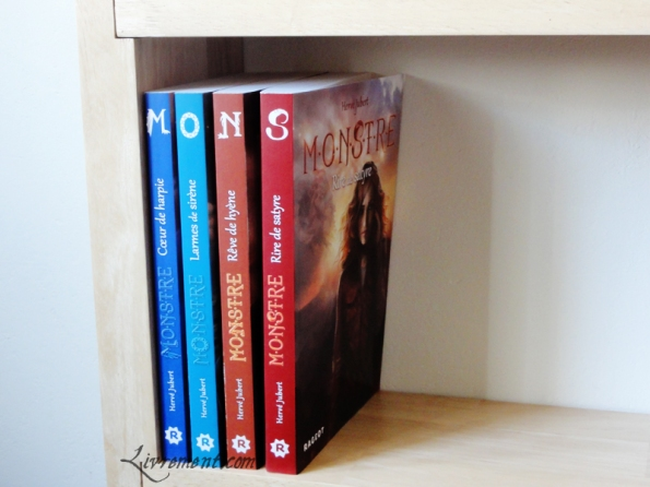 serie Monstre tome 4 Jubert