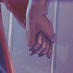mains le noir est ma couleur