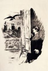 Le Corbeau Manet