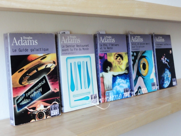 Saga Le guide du voyageur galactique Douglas Adams