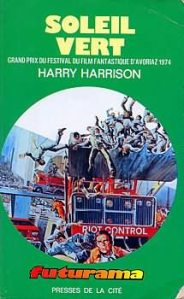 Soleil vert Harry Harrison futurama