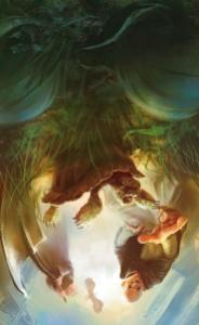 Les petits dieux couverture Marc Simonetti