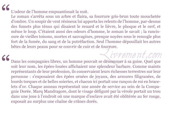 Citations Le bucher d un roi G.R.R. Martin Le trone de fer tome 13