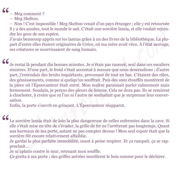 extraits Le secret de l epouvanteur Joseph Delaney