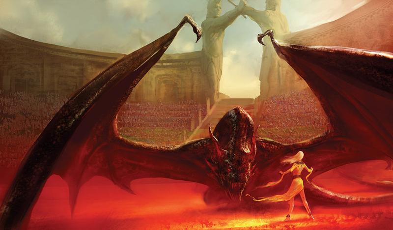 Une danse avec les dragons illustration 03