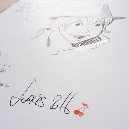 2016 dedicace Joris Chamblain