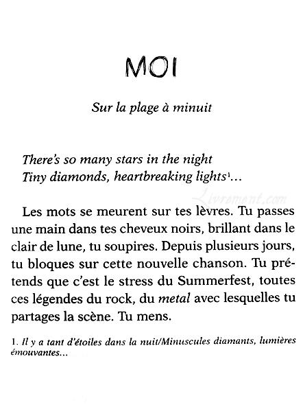 Tant d etoiles dans la nuit Bousquet premiere page