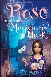 Rose et le masque venitien Holly Webb couverture anglaise