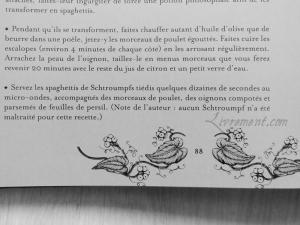 La cuisine des sorciers d'Aurélia Beaupommier humour schtroumphs