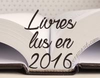 Livres lus en 2016